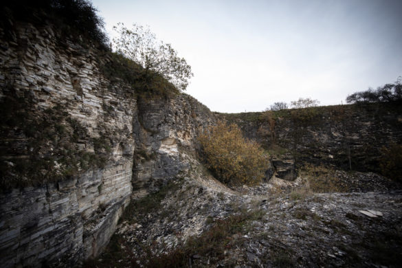 Der verlassene Steinbruch