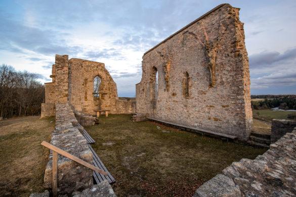 Ruine der St.-Katharinen-Kapelle bei Hechlingen