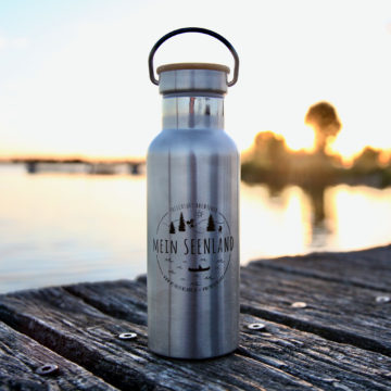 MeinSeenland Trinkflasche – Frischluft-Abenteuer Edition